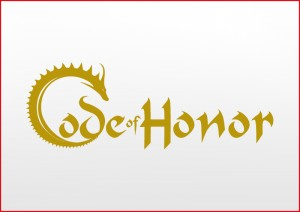 Code of Honor Logo Vector